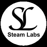 Steam-Labs-Circle-Logo-Black-on-White-300px